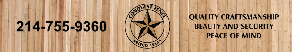 Your fence contractor in Frisco Plano Allen McKinney Dallas and all of DFW